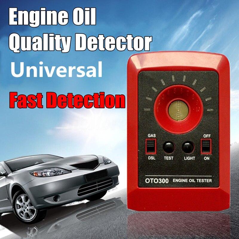 Tickas Probador Digital Motor Calidad Del Aceite Del Motor,12V LED Probador digital Motor Motor Detector de calidad de aceite Gas Diesel Analizador de fluidos