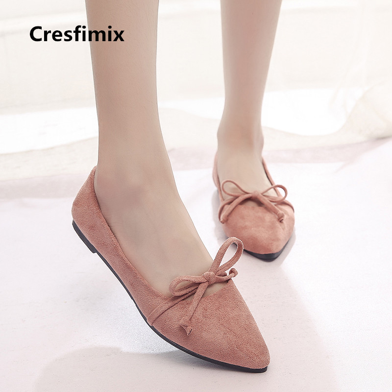 Cresfimix zapatos de mujer womcn casual flock slip on shoes female cute cool comfortable summer shoes sapatos femininas a2080 женские блузки и рубашки cool fashion 2015 roupas blusas femininas tcb0024