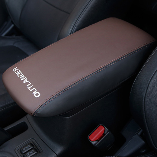 Anti dirty pad Center Console Armrest Pad Cover For Mitsubishi Outlander Accessories 2013 2014 2015 2016