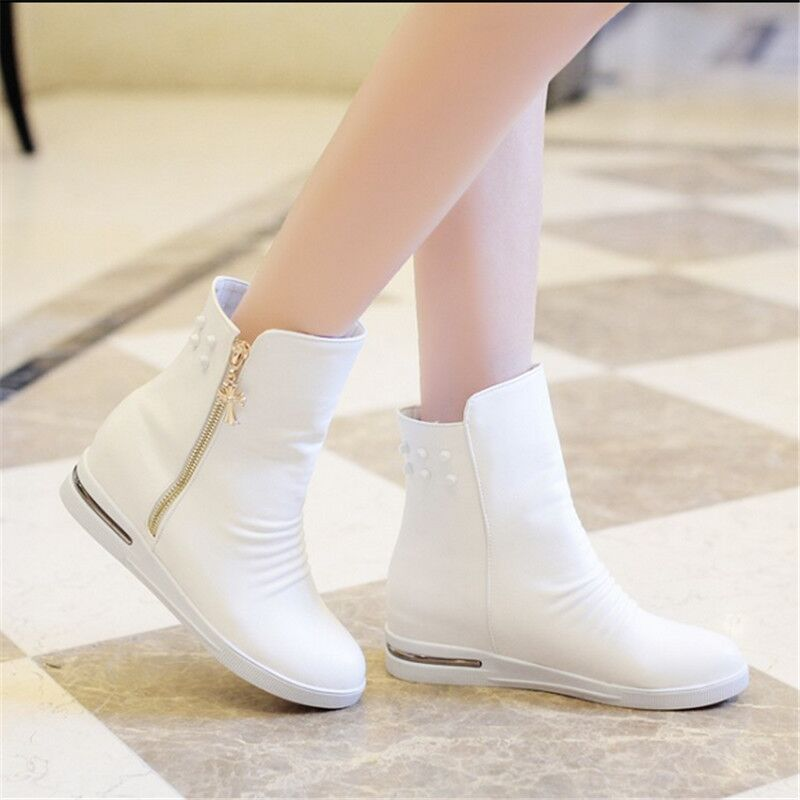 Aliexpress.com : Buy Autumn winter white and black shoes women ...