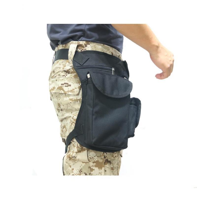 bolsa de perna, cinto militar para motocicleta, bolsa de ombro, multiuso