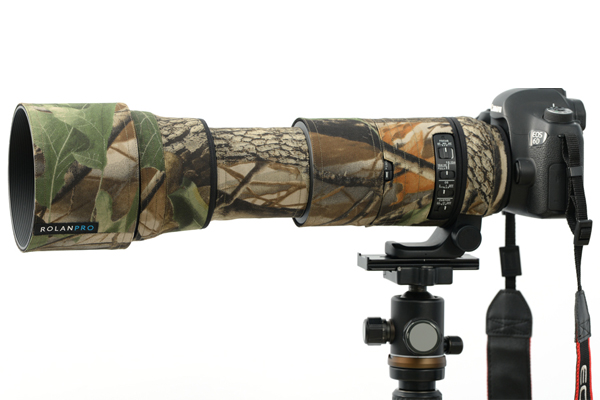ROLANPRO Nylon Waterproof Lens Clothing Camouflage Rain Cover SIGMA 150-600mm F5-6.3 DG OS HSM Contemporary (AF Version) Guns new sigma contemporary 150 600mm f 5 6 3 dg os hsm telephoto zoom lens for nikon