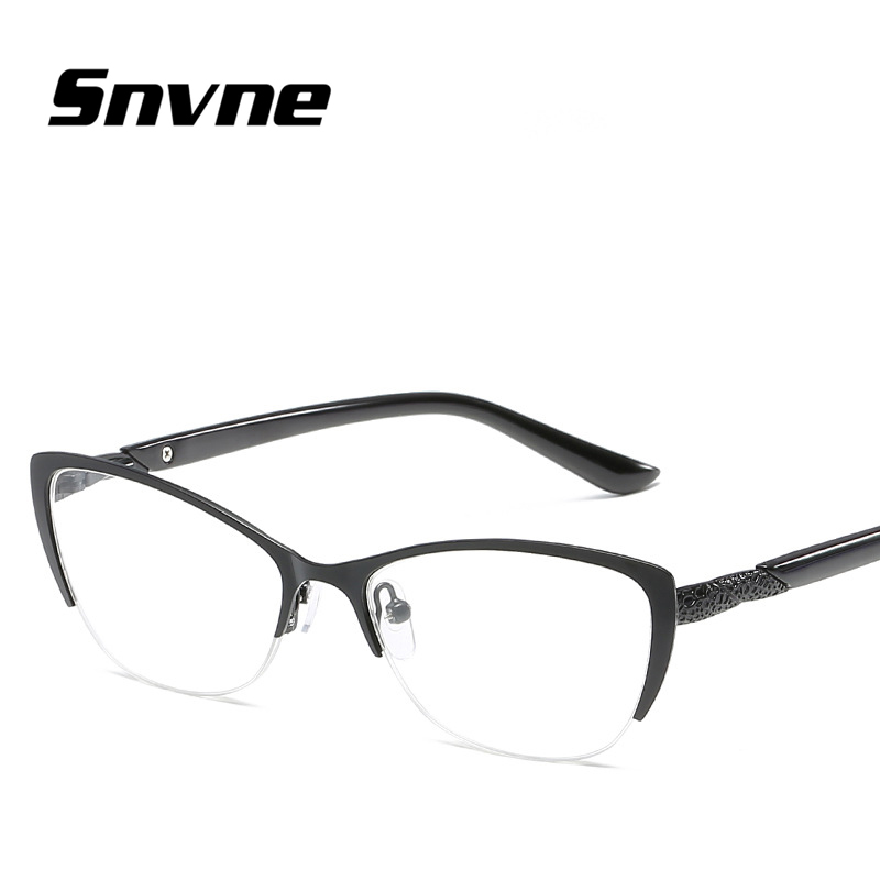8eb12b94ad Snvne Reading glasses New metal cat s eye presbyopic glasses for old men  old women Brand design