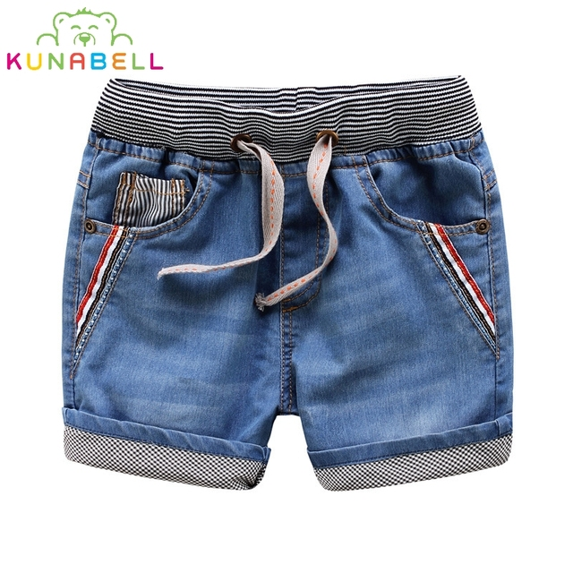 New Baby Boys Denim Shorts Fashion Boys Shorts Water washing Soft Summer Style Children Jean Shorts High quality L247