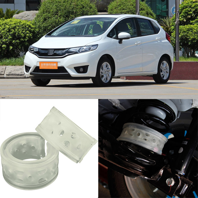 For Honda FIT High Quingity Front /Rear Car Auto Shock Absorber Spring Bumper Power Cushion Buffer  high quality front rear car auto shock absorber spring bumper power cushion buffer for honda cr v