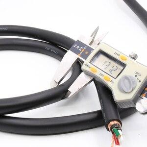 Image 5 - Hifi Audio Verzilverd Ofc Voedingskabel Voor Diy Eu/Uk/Us Power Kabel