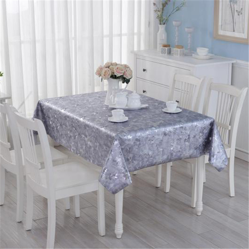 europe style home pvc tablecloth waterproof oilproof non. Black Bedroom Furniture Sets. Home Design Ideas