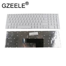 GZEELE NEW Russian keyboard For Sony VAIO svf152c29v Fit 15 SVF152A29V SVF152A29M SVF15A SVF15E SVF153A1YV white laptop RU