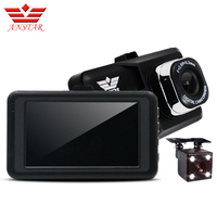 ANSTAR 3ch Car Dvr Camera Dual Lens Video Recorder CAR Camera Dash Cam Automobile DVRs HD 1080p Blackbox Dashcam Vehicle Monitor