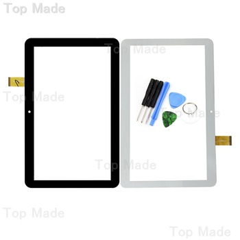 New 10.1 inch Black/White Touch Screen YLD-CEGA566-FPC-A0 for Digma Optima 10.4 3g tt1004pg Lens Digitizer Sensor Replacement