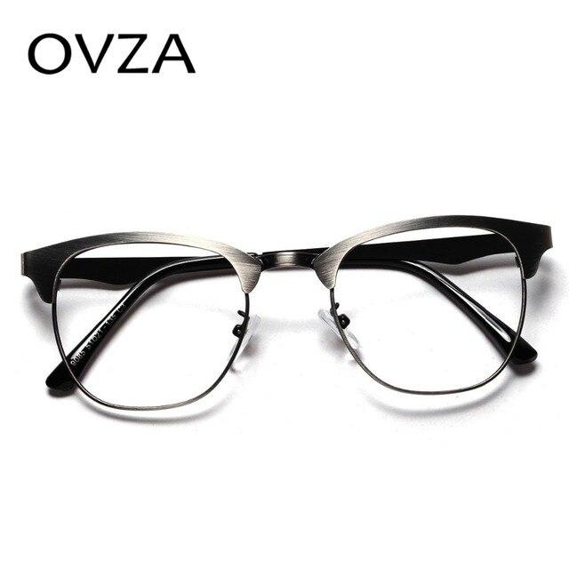 OVZA Ultra-fina óptica armação de óculos mulheres de metal armações de  óculos de lente 8ae5cddd42