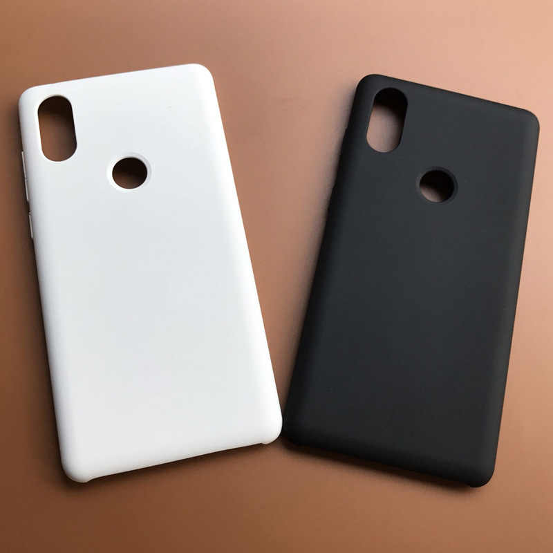white color For Xiaomi Mi MIX 2S Case Hard Back Cover Case Back Hard Case For Xiaomi Mi MIX2 S Protective Full Frosted Cases