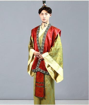 Tang-dynastiet passer hanfu mænd cosplay antikke kostume fotografering scenetøj