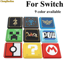 12 Game Cards box Plastic Portable Case For Nintend Switch Shockproof Hard Shell Storage Box NS NX Card