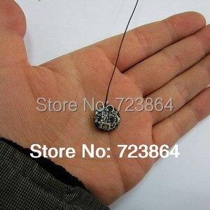 Free Shipping Uhf Button Fm Transmitter Mini Wireless Microphone  Module -- Walkie-talkie As A Receiver