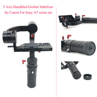 3 Axis Handhled Gimbal Stabilizer for Canon 5D 6D 7D DSLR For Sony A7 series etc Mini SLR as Beholder DS1 MS1,Camera Stabilizer