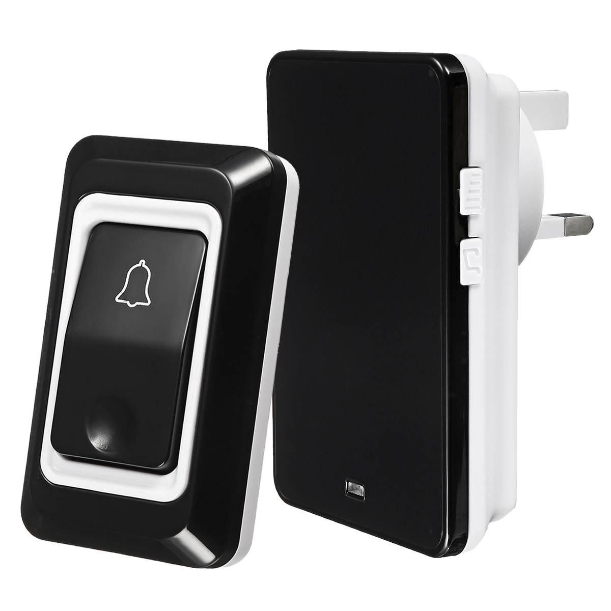50m Remote Home Welcome Doorbell Wireless Doorbell IP68 Waterproof EU AU UK US Plug 28 Songs Door Bell Indoor Chime