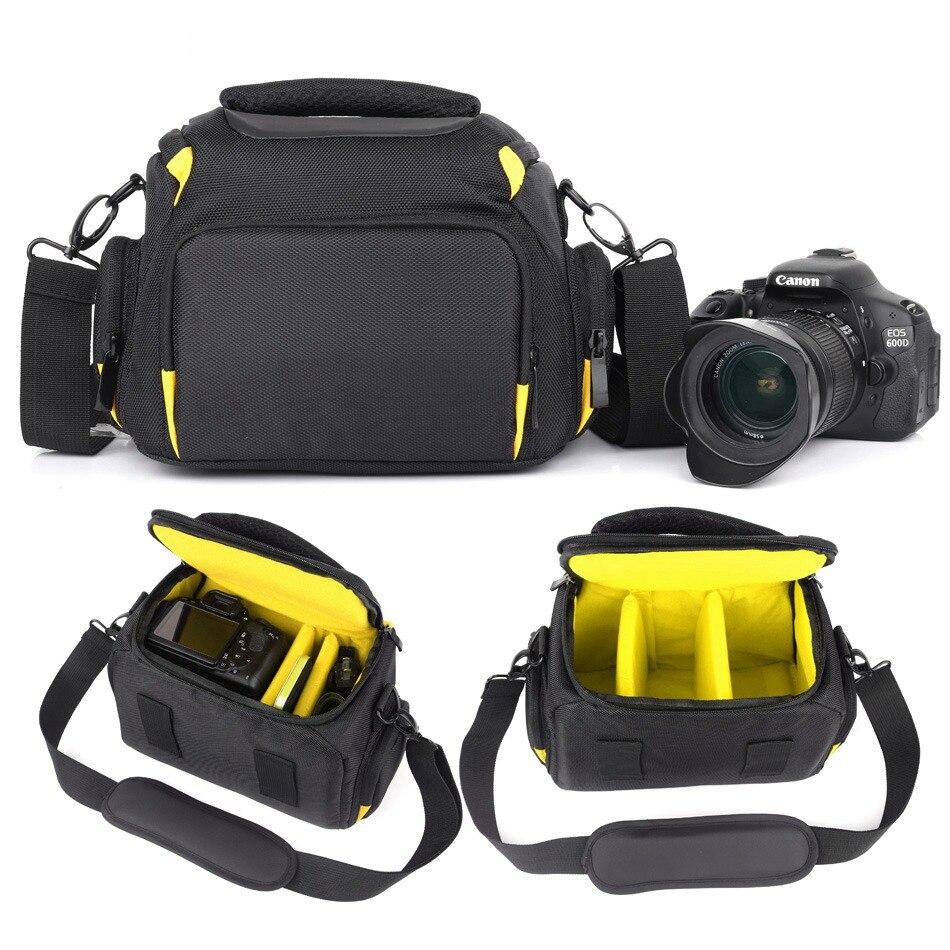 2018 High Quality Waterproof Camera Bag For Canon 1300d 1100d 1200d 60d 750d Nikon Camera Fotografica Canon Dsrl Nikon Bag Case Attractive Designs; Digital Gear Bags