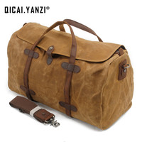 2016 Waterproof Men S Canvas Bags Travel Bag Shoulder Messenger Luggage Handbag Brand Casual Free Shipping