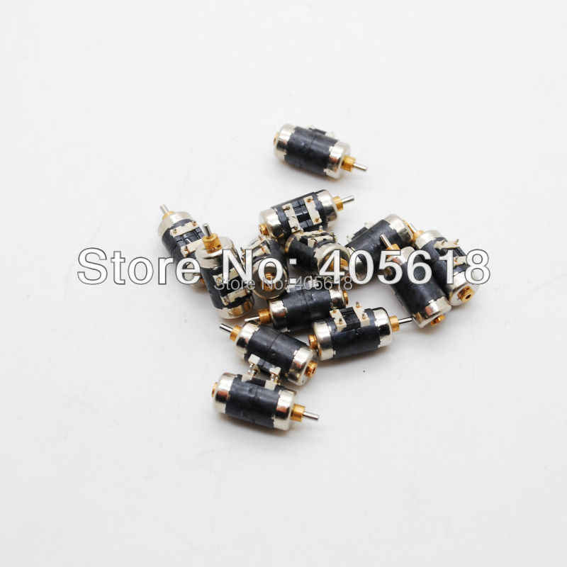 10PCS 4 Wire 2 Phase Mimi stepper motor for Canon micro stepping motor D6mm