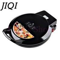 JIQI Crepe Makers hover grill Piastra Elettrica waffle Macchina Della Pizza Pancake teglia Macchina frittura strumenti di cottura 1100 w UE US