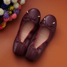 2017 new Summer genuine leather women flats shoes female casual flat women loafers shoes slips leather black flat women's shoes