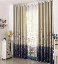 hot sale vorhang blackout curtains Castle tenda window Curtains for living room bedding