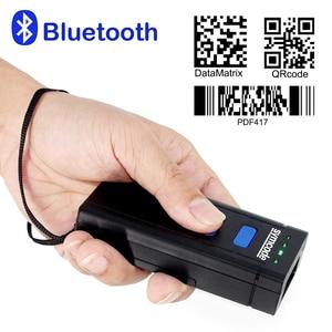 Image 4 - Symcode 1D 2D Bluetooth Barcode Scanner 1D 2D USB Bluetooth 2.4GHz Wireless Barcode Reader Wireless Transfer Distance 100 Meters