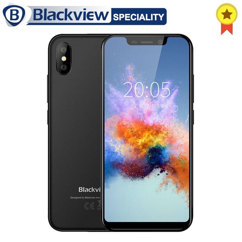 Blackview A30 смартфон mt6580a четыре ядра 19:9 полный экран 5,5 дюймов телефона 2 ГБ Оперативная память 16 ГБ Встроенная память 8MP Android 8,1 мобильный телефо...