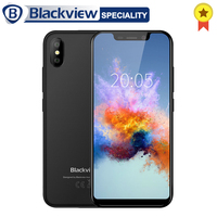 Blackview A30 Smartphone MT6580A Quad core 19:9 Full screen 5.5 inch Cellphone 2GB RAM 16GB ROM 8MP Android 8.1 3G Mobile phone