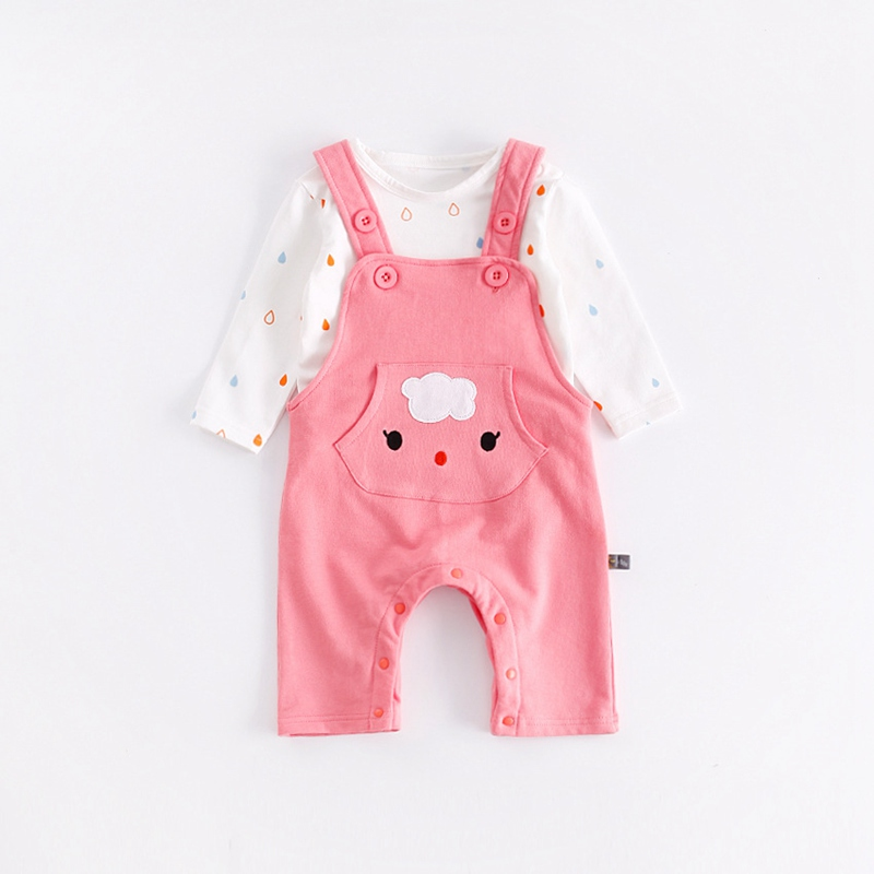 17f5c398e Newborn Infant 100% Cotton Baby Boy Girl Warm Two Piece Top and Pant ...