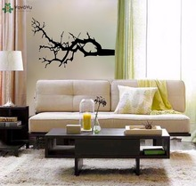 YOYOYU Wall Decal Winter Tree Branch Vinyl Stickers Livingroom Art Mural Gift Home Decor Removable Interior DecalSY597