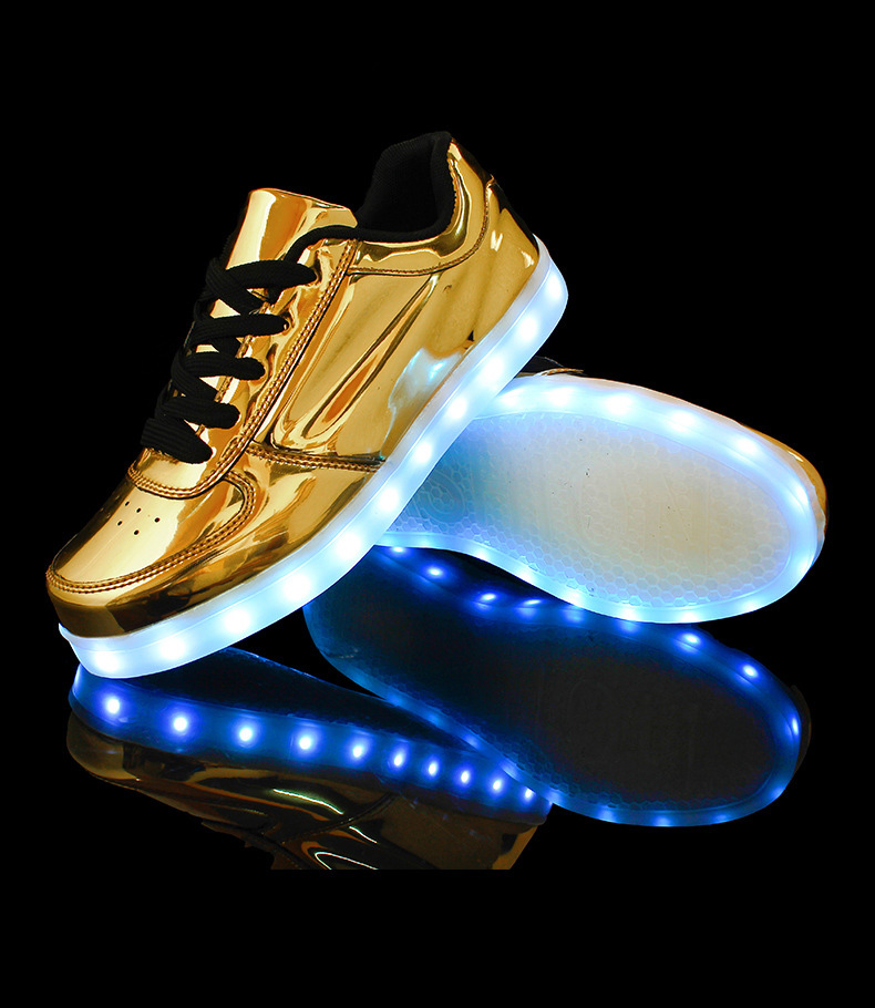 Women led luminous shoes for adults 2017 women casual shoes wo