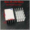 (Бесплатная доставка) 50 шт. алюминиевый радиатор 20 мм x 14 мм x 10 мм