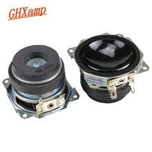 GHXAMP 2 pouces gamme complète haut parleur 8ohm 20W Subwoofer Bluetooth haut parleur bricolage basse profonde haut parleur longue course haute puissance 2 pièces