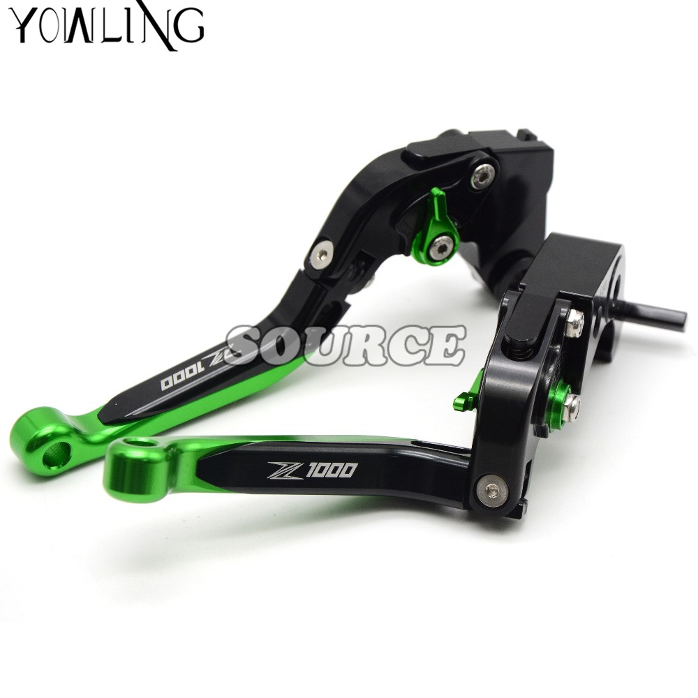 Motorcycle CNC Pivot Brake Clutch Levers Adjustable foldable Levers For KAWASAKI Z1000 Z1000SX 2011-2016 2012 2013 2014 2015 2016 cnc pivot dirt bike adjustable clutch brake levers for yamaha yz250fx 2015 2016 yz426f 450f 2009 2016 yz250f 2009 2016 2015