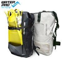 Вода про печатных 40l сухой мешок Водонепроницаемый мешок дайвинг плавники сумка Регулируемый Водные виды спорта Подводное плавание
