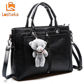 Loshaka Luxury Women PU Leather Handbag Retro Designer Handbags High Quality Famous Brand Casual Tote Ladies Shoulder Bag