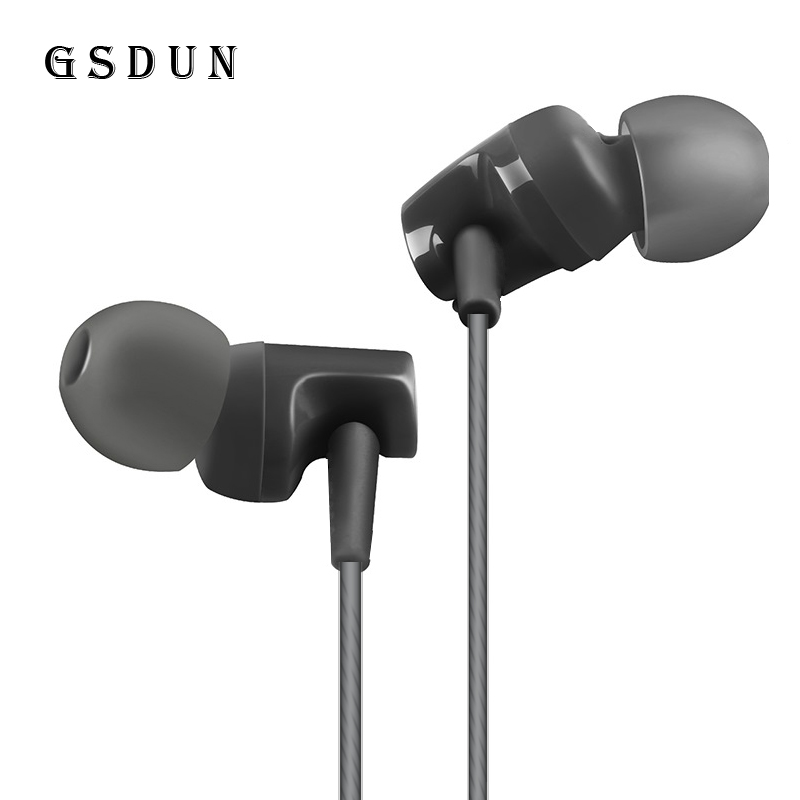 GSDUN GS4 Earphone with Microphone In Ear Monitor Bass Stereo Headset for Mobile Phone Iphone Xiaomi Audifonos Fone de ouvido