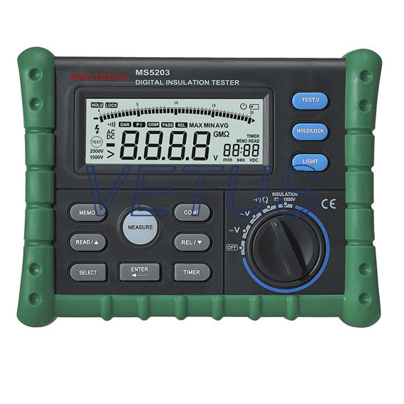 MS5203 1000V Digital megger insulation tester  stc диана 5203