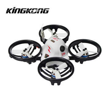 KINGKONG/LDARC ET Series ET115 115mm Micro FPV Racing 800TVL Camera 16CH 25mW 100mW VTX RC Drone Quadcopter BNF - DISCOUNT ITEM  50% OFF All Category