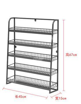 Купить с кэшбэком Shelf, convenience store, cashier, unpacking, five-layer small shelf, gum display rack, white and gray display rack.