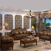 living room furniture modern fabric sofa European sectional sofa set 1066
