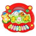 Miúdos novos Do Bebê Musical Educacional Animal da Fazenda Piano Música Developmental Toy Baby Gift Brinquedos Melhor Presente de 2 Cores