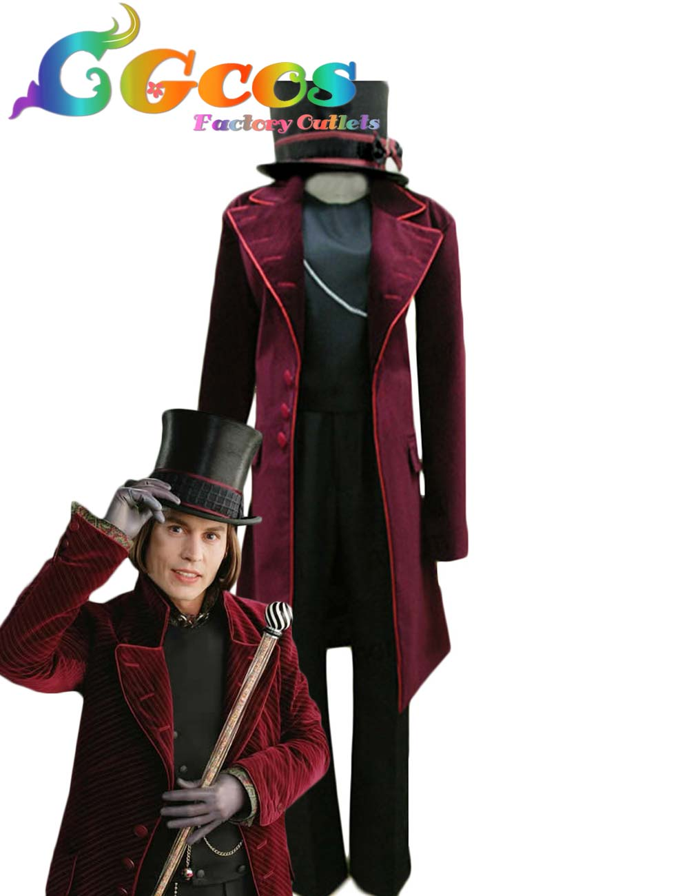 Express Cgcos Charlie And Chocolate Factory Willy