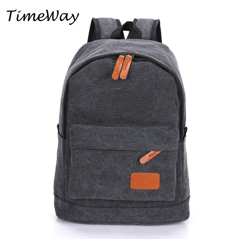 Famous Brand Men Backpacks Designer Casual Canvas Backpacks For Teenagers Children School Bags Laptop Backpacks High Quality
