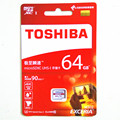 2016 TOSHIBA 64gb micro sd card class 10 SDXC U3 90MB/S 64GB Memory Card TF Card Micro SD Card UHS-1 Pass H2testw