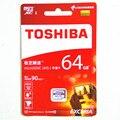 2016 toshiba 64 gb cartão micro sd classe 10 sdxc u3 90 mb/s 64 gb cartão de memória tf cartão de cartão micro sd uhs-1 passar h2testw
