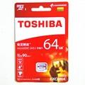2016 toshiba 64 gb tarjeta sd micro sdxc clase 10 u3 90 MB/S 64 gb tarjeta de memoria tf tarjeta sd micro uhs-1 pass h2testw