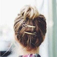 JU 16 Fairy Store 2016 Hot Selling  1PC Women Hairpin Scissors Pattern Hair Clip Hair Barrettes Apparel Accessories Headpiece